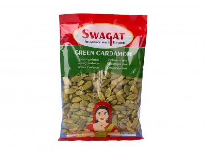 Kardamom zelený celý, 50 g, Swagat