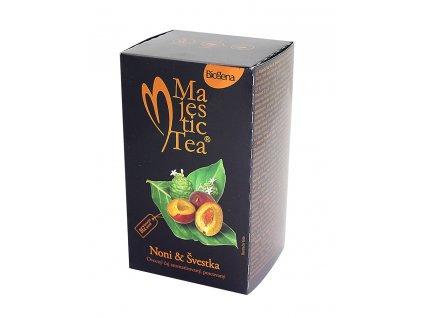 BIOGENA CB, spol. s r.o. Majestic Tea - Noni/Švestka 20x2,5g
