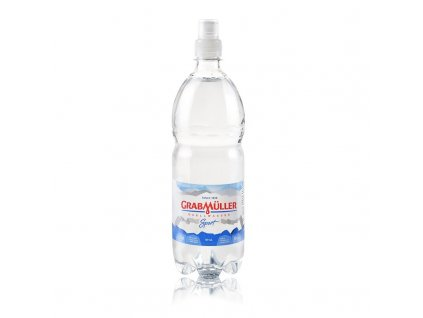 Přírodní voda nesycená Grabmüller sport 1 l