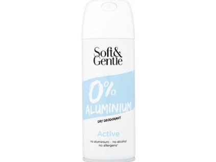 Soft&Gentle Do BS - 0% Aluminium - Acive - zelený čaj 150ml