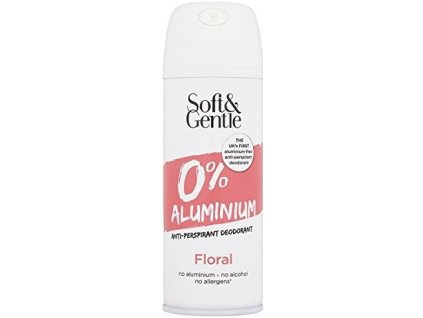 Soft&Gentle Do BS - 0% Aluminium - Floral - svěží růže 150ml