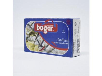 Bogar Sardinky v rostinném oleji 115g