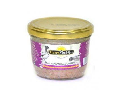 TierraMudéjar Trhané kachní maso s foie gras 180g
