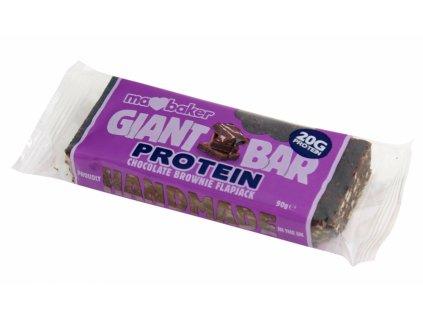 Marksman Protein flapjack čoko brownie 90g Ma Baker...