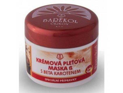Barekol Barekol Maska krémová s betakarotenem 50ml