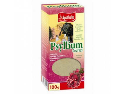 Apotheke Apotheke Psyllium Čisticí s červenou řepou 100g
