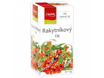 Apotheke Natur NATUR Rakytníkový čaj 20x2g