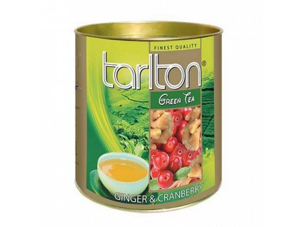 Tarlton Tarlton zelený čaj ZÁZVOR, BRUSINKA 100g