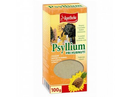 Apotheke Apotheke Psyllium Při hubnutí s ananasem 100g