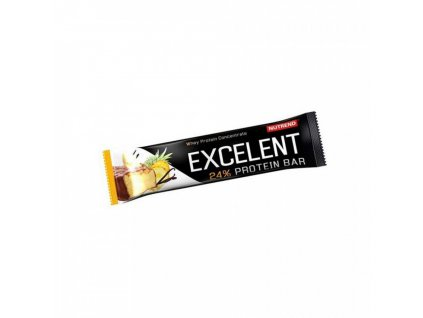 Excelent Excelent proteinová tyčinka Vanilka-Ananas 85g