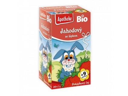 Apotheke Apotheke BIO Dětský čaj Jahodový se šípkem 20x2g