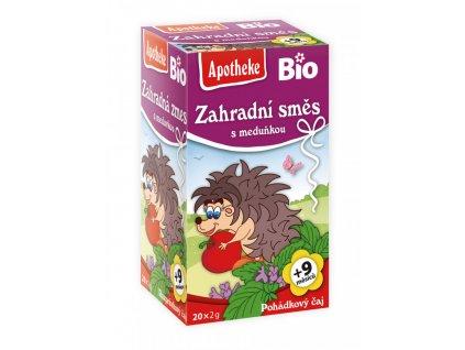 Apotheke Apotheke BIO Dětský čaj Zahradní směs s meduňkou 20x2g