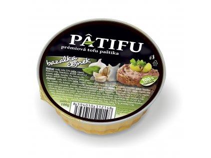 Paštika PATIFU bazalka a česnek 100g VETOECO