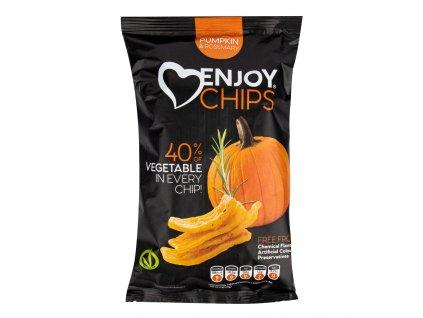 Chipsy bramborové s dýní a rozmarýnem 40 g ENJOY CHIPS SE