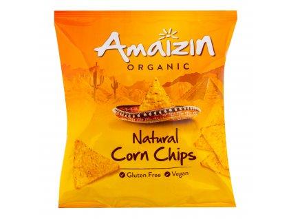Chipsy kukuřičné 75 g BIO AMAIZIN