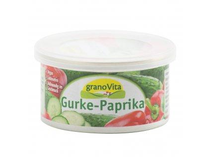 Pomazánka okurkovo-papriková 125g GRANOVITA