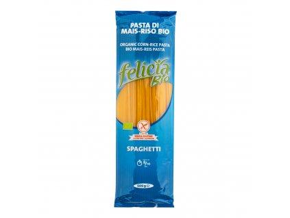 Špagety kukuřično rýžové bezlepkové 500g BIO FELICIA