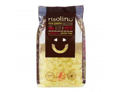 Těstoviny polévkové hvězdičky rýžové bezlepkové 300g RISOLINO