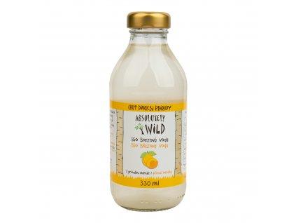 Březová voda s příchutí meruňky 330 ml BIO ABSOLUTELY WILD
