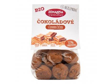 Hrudky čočkové s kokosem a čokoládou bezlepkové 100 g BIO ZEMANKA
