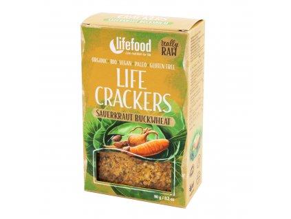 Life Crackers Zelňáky 90 g BIO LIFEFOOD