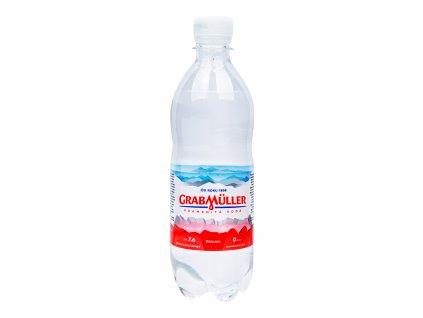 Voda pramenitá perlivá 500 ml GRABMÜLLER