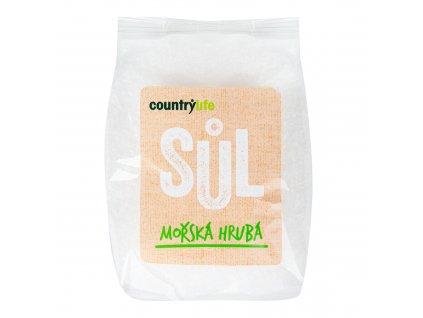 Sůl mořská hrubá 1kg COUNTRYLIFE