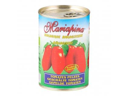 Rajčata celá sterilovaná 400g BIO MARIAPINA