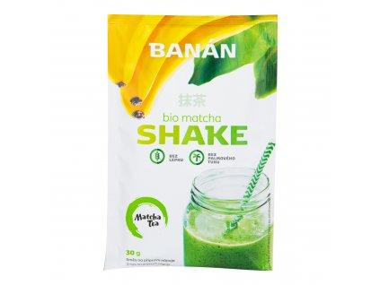 Matcha shake banán bezlepkový 30 g BIO MATCHA TEA