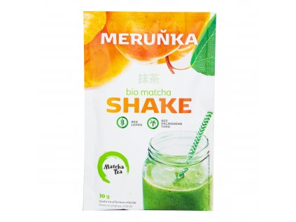 Matcha shake meruňka bezlepkový 30 g BIO MATCHA TEA