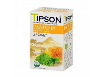 Tipson Tipson BIO Matcha med a citron 25x1,5g