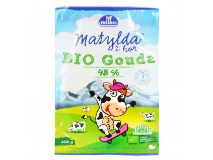 Sýr gouda 48% 100 g BIO POLABSKÉ MLÉKÁRNY