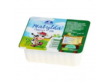 Sýr čerstvý smetanový Matylda 120 g BIO POLABSKÉ MLÉKÁRNY