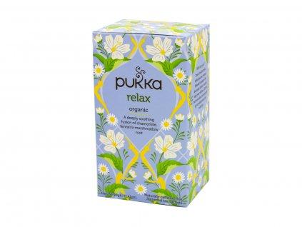 Pukka Herbs Ltd , BS14OBY, Bristol, Velká Británie Čaj bio Relax 20 sáčků