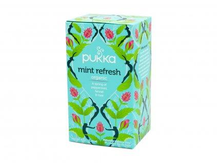 Pukka Herbs Ltd , BS14OBY, Bristol, Velká Británie Čaj bio Mint Refresh 20 sáčků