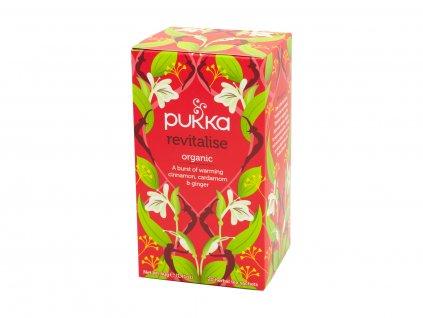 Pukka Herbs Ltd , BS14OBY, Bristol, Velká Británie Čaj bio revitalizační 20 sáčků
