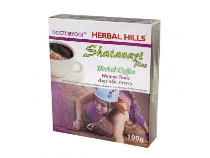OMA IMPEX, s.r.o. SHATAVARI plus Herbal Coffee 100g