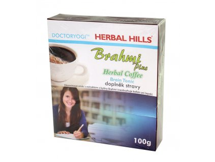 OMA IMPEX CZ, s.r.o. BRAHMI plus Herbal Coffee 100g