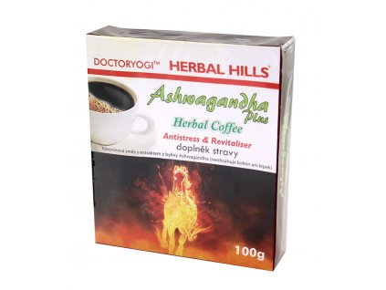 OMA IMPEX CZ, s.r.o. ASHWAGANDHA plus Herbal Coffee 100g