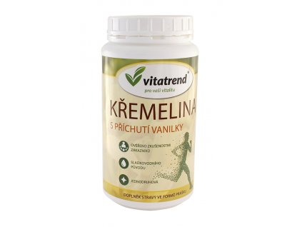 Křemelina vanilka dóza 300g Vitatrend.....