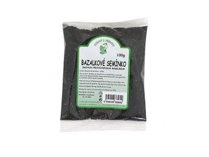 Zdraví z přírody s.r.o. Bazalkové semínko 100g ZP