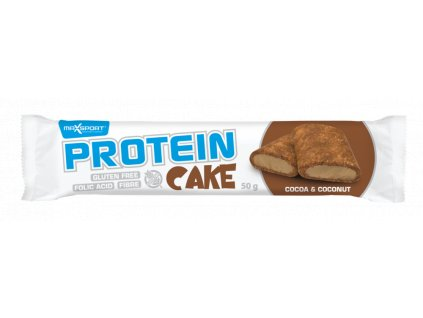 MAX SPORT Protein cake čoko/kokos/chia 50g MaxSport