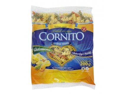 Těstoviny vřetena barevná bezl. 200g Cornito