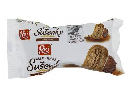 REJ s.r.o. Sušenky cel. čokoládové 34g REJ