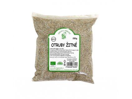 Zdraví z přírody s.r.o. Otruby žitné 250g BIO ZP