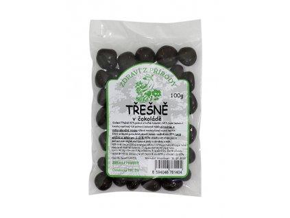 Zdraví z přírody s.r.o. Třešně v hořké čokoládě 100g ZP