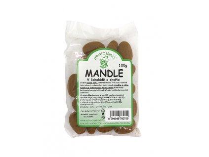 Zdraví z přírody s.r.o. Mandle v čokoládě a skořici 100g ZP