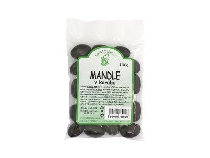 Zdraví z přírody s.r.o. Mandle v karobu 100g ZP