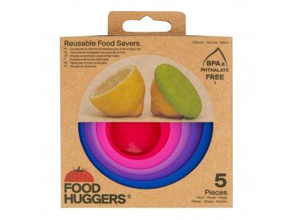 Sada krytů silikonových Světlé bobule 5 ks FOOD HUGGERS
