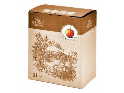 Grešík Mošt Jablečný 100% 3 l
